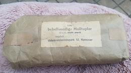 LAST DAY Armée Allemande 1944- Paquet 100 Compresses Stériles/100 Behelfsmassige Mulltupfer HANNOVER Pharmacie Militaria - 1939-45