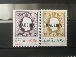 FRANCOBOLLI STAMPS PORTOGALLO PORTUGAL MADEIRA 1980 MNH** NUOVI SERIE COMPLETA ANNIVERSARIO FIRST MADEIRA STAMP - Madeira