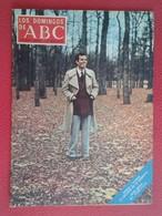 ESPAÑA ANTIGUA MAGAZINE REVISTA LOS DOMINGOS DE ABC 1971 SITGES, JULIO IGLESIAS...ETC CON PUBLICIDAD VARIADA ADVERTISING - Zeitungen & Zeitschriften