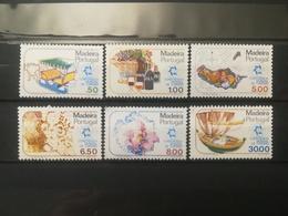 FRANCOBOLLI STAMPS PORTOGALLO PORTUGAL MADEIRA 1980 MNH** NUOVI  SERIE COMPLETA CONFERENZA PER IL TURISMO MANILA - Madeira