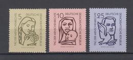 DDR  1956  Mich.Nr.548-50 ** Geprüft  BPP - DDR