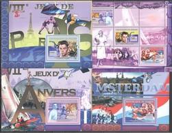 S606 2007 DE GUINEE SPORT OLYMPIC GAMES AMSTERDAM ANTWERP PARIS 1KB+3BL MNH - Giochi Olimpici