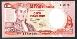 Colombia 100 Pesos 1991 UNC - Colombia