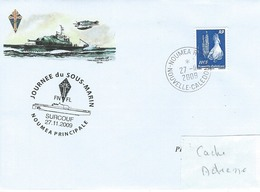 13036  SURCOUF - Journée Du SOUS-MARINS à NOUMÉA - 2009 - Briefe U. Dokumente