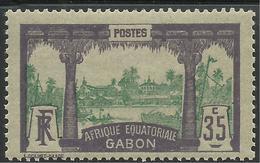 GABON 1911 YT 58** MNH - Gabon (1886-1936)