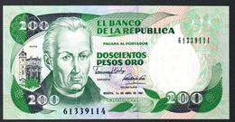 Colombia 200 Pesos 1991 UNC - Colombia