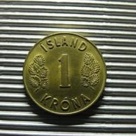 Iceland 1 Krona 1975 - Islandia