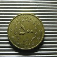 Iran 500 Rials 2005 - Iran