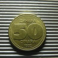 Yugoslavia 50 Dinara 1992 - Joegoslavië