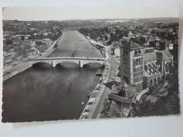 Huy, Le Pont Et Le Collégiale Vus Du Fort. - Belgique