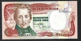 Colombia 500 Pesos 1990 UNC - Colombia