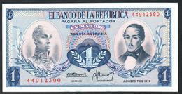 Colombia 1 Peso 1974 UNC - Colombia