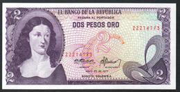 Colombia 2 Pesos 1977 UNC - Colombia