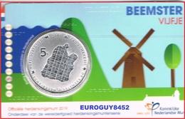 NEDERLAND - COINCARD 5 € 2019 UNC - HET BEEMSTER VIJFJE - Pays-Bas