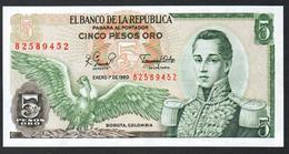 Colombia 5 Pesos 1980 UNC - Colombia