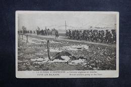 MILITARIA - Carte Postale - Dans Les Balkans - Colonne Anglaise En Marche - L 33474 - Guerre 1914-18