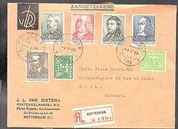 1939 J.L.. Van Dieten Postzegelhandel > Fritz Moser-Räz Schützengasse Biel Schweiz (EU-44) - Period 1891-1948 (Wilhelmina)
