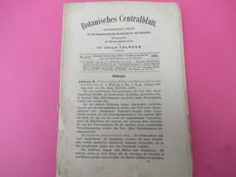 Fascicule/ Botanique/ Botanisches Centralblatt Referirendes Oirgan/ Oscar UHLWORM/ Leipzig//1880     MDP90 - Livres, BD, Revues