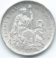 Peru - 1906 -1 Dinero - KM204.2 - AUNC - Peru