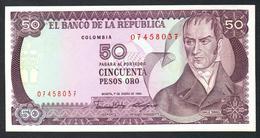 Colombia 50 Pesos 1986 UNC - Colombia