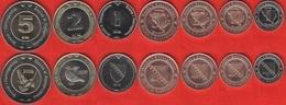 Bosnia And Herzegovina Set Of 7 Coins: 5 Feninga - 5 Km 2008-2013 UNC - Bosnië En Herzegovina