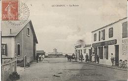 X117426 CHARENTE MARITIME BOURCEFRANC LE CHAPUS LA POINTE RESTAURANT TERMINUS CAFE - La Rochelle