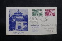 VIÊT-NAM - Enveloppe FDC En 1959 - L 33481 - Vietnam