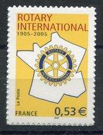 RC 13088 FRANCE N° 52 ROTARY CLUB AUTOADHÉSIFS TB NEUF ** - Sellos Autoadhesivos
