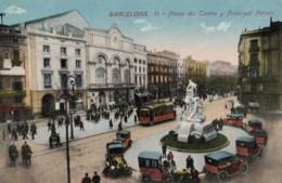 CPA - Barcelona - Plaza Del Teatro Y Principal Palace - Barcelona
