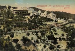 CPA - Barcelona - La Rabassada - Vista General - Barcelona