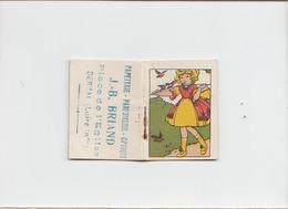 Petit Calendrier 1929 / Papeterie Briand Derval / Dim Fermé 4 X 5 Cm - Klein Formaat: 1921-40