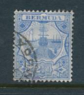 BERMUDA, 1906 2½d Blue Fine Ised, Cat £9.50 - Bermuda