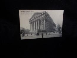 """Publicité .Paris 8 ème.Eglise De La Madeleine . Echafaudage """" Hector Lièvre """" Quai De La Gare 13 ème .Voir 2 Scans. - France"""