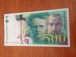 500 F Pierre Et Marie Curie 1994 TB - 1992-2000 Last Series