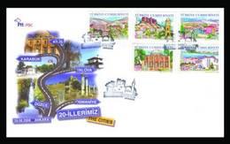 AC - TURKEY FDC -  THE CITIES # 20 ANKARA 27AUGUST 2008 - 1921-... Repubblica