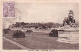 Argentine / Argentina - Buenos Aires  - Avenida Alvear - 1921 - Argentine