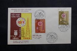 VIÊT-NAM - Enveloppe FDC En 1965 - U.I.T. - L 33490 - Vietnam
