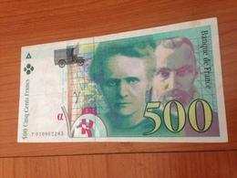 500 F Pierre Et Marie Curie 1994 - 1992-2000 Last Series