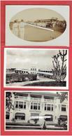 39 PHOTOGRAPHIES CONSTRUCTION DE LIGNE DE CHEMIN DE FER ABIDJAN NIGER 1930 1931 COTE D IVOIRE HAUTE VOLTA BURKINA FASO - Afrika
