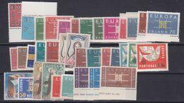 Europa Cept 1963 Year Set 19 Countries ** Mnh (43291) - Europa-CEPT