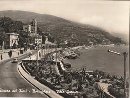 Cartolina - Postcard /  Viaggiata - Sent / Bordighera, Villa Garnier.. - ( Gran Formato ) Anni 50° - Imperia