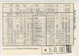 ITALIA -  MERANO    TRAIN - ZUG-TREIN- -TRENI- GARE -BAHNHOF- STATION- STAZIONE-    2  SCAN     (NUOVA) - Eisenbahnen