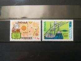 FRANCOBOLLI STAMPS PORTOGALLO PORTUGAL MADEIRA 1981 MNH** NUOVI SERIE COMPLETA DISCOVERY OF THE ISLAND MADEIRA - Madeira