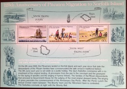 Norfolk Island 1981 Pitcairn Migration Minisheet MNH - Norfolk Island