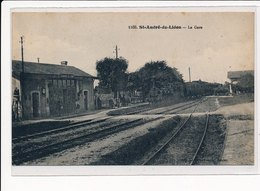 SAINT-ANDRE-de-LIDON : La Gare - Tres Bon Etat - France