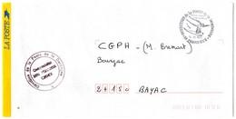 DORDOGNE - Dépt N° 24 = PERIGUEUX 1995 = CACHET  Illustré  D'un TAUREAU PREHISTORIQUE = ' DIRECTION De La POSTE ' - Prehistory