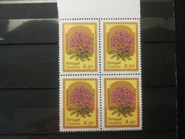 FRANCOBOLLI STAMPS PORTOGALLO PORTUGAL MADEIRA 1981 MNH** NUOVI  SERIE  FIORI FLOWERS QUARTINA - Madeira