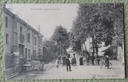 Cpa Dpt 54 - Marbache - Avenue De La Gare - 1909  Livraison Gratuit Pour La France - Frankreich