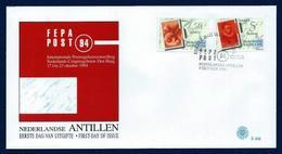 Antillas Holandesas Nº 991/2 (sobre Primer Día) - Antillas Holandesas