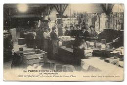 LA PRUNE D'ENTE - SA PREPARATION CHEZ LE NEGOCIANT - La Mise En Caisse Des Prunes D'Ente (prix Fixe) - France
